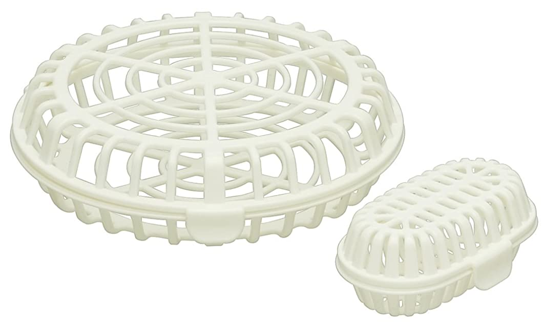ペフトレイル爪スケーター 食洗機用 小物バスケット 大小セット 食洗機内の仕分けに便利 日本製 BKK1