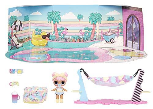 LOL Surprise Furniture - Puppe Dawn mit mehr als 10 Überraschungen, Möbeln und Puppen-Accessoires - Miniatur Spielset - Kompatibel mit OMG House - Serie 4 - LOL Surprise Puppen für Mädchen ab 3 Jahren
