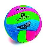 Cocovery19 Balón Voley-Playa Colores neón (Verde)