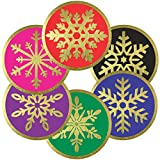 Snowflake Stickers Seals Labels - (Pack of 120) 2
