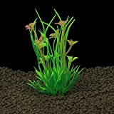 KAYI Acuario Planta de plástico Hierba Osmanthus recinto de Flores DIY Tanque de Agua decoración 10 Piezas