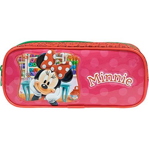 Estojo Simples Minnie X1-9356 - Artigo Escolar