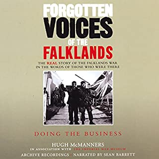 Forgotten Voices of the Falklands cover art