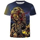 QNNN Camisetas Men Women 3D Printed T-Shirts Iron Maiden Graphic Casual Couple Tees Tops