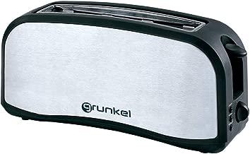 Grunkel - Tostadora de ranura ancha para todo tipo de pan en