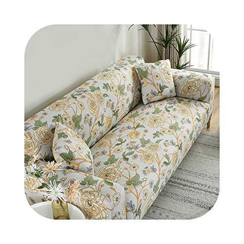 Henraly - Funda de sofá de esquina seccional en forma de L, funda de sofá conjunto -01-40x40 Pillowcase
