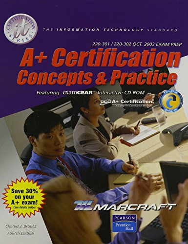 A+ Certification Stand Alone Text (It Certification)