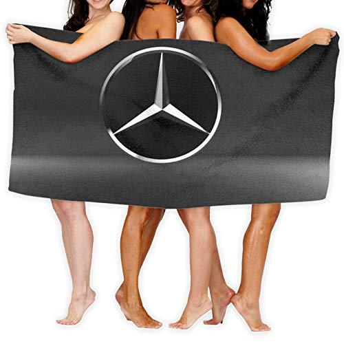 Mercedes Benz 100% Baumwolle Handtücher 80x130cm dick weich und saugfähig Waschlappen Handtuch Badetuch