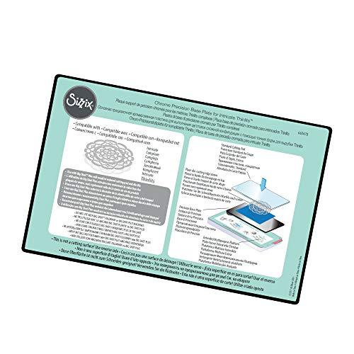 Sizzix Verchromte Präzisionsgrundplatte für aufwendige Verdünnungen, mehrfarbig