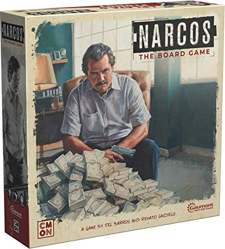 Cool Mini or Not Narcos The Board Game - EN