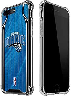 Skinit Clear Phone Case for iPhone 7/8 Plus - Officially Licensed NBA Orlando Magic Jersey Design