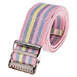 COW&COW Gait Belt 60inch - with Metal Buckle - Transfer Walking and Standing Assist Aid for Caregiver Nurse Therapist 2 inches(Rainbow)