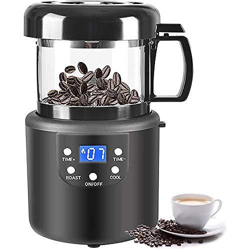 OUYA 2 In1 kaffeeröster, 1400W Coffee Roaster für den Heimgebrauch, vollautomatisches Backen und Kühlen von Kaffeebohnenröster - 15,7 * 27,3 * 15,8 cm,220V