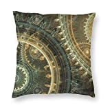 Pillow Covers Pillowcase Soft Square Pillow Decorative Cushion Cover Pillow Cover for Sofa Couch Bed Chair Steampunk