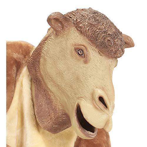 Widmann 96642 Ganzkopfmaske Kamel, beige, One Size