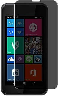 Vaxson Sekretess skärmskydd, kompatibel med NOKIA Lumia 530, Anti Spy Film Guard [Inte härdat glas] Sekretessfilter