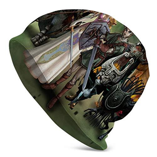 CVDGSAD Die Legende von Zelda Twilight Beanie Cap Hut Sport Cap Skull Cap für Männer und Frauen