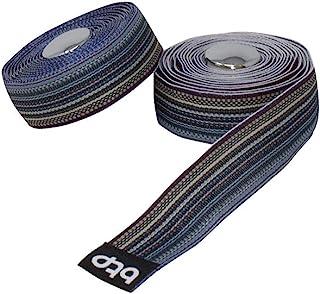 Fenix BTP Woven Ribbon Stripe Handlebar Tape Road Bike Bicycle, Denish