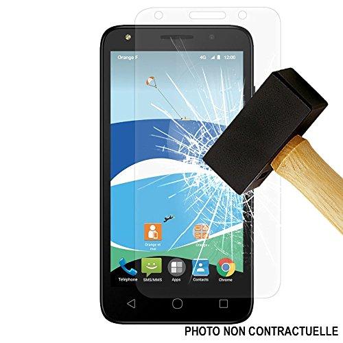 1001 Coques - Protector de pantalla de cristal templado para Alcatel One...