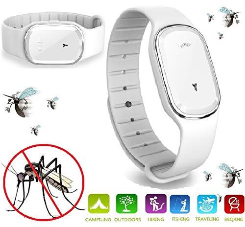 N3 ZELEK Mückenschutz Armband Mückenbänder NEUESTE CHIP Mückenschutz Bänder Ultraschall-Schädlingsbekämpfer-Armband Schädlingsbekämpfer-Armband Anti-Mücken-Armband Smart Insect Watch