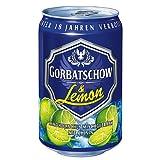 24 Dosen Gorbatschow & Lemon 10% Vol inc. 6.00€ EINWEG Pfand