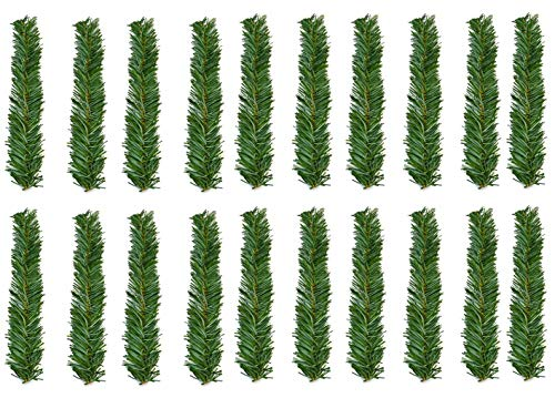 Haute Decor GarlandTies, 20 Pack 14 inches (Noble Fir)