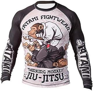 Tatami Fightwear Thinker Monkey Rash Guard | Gym, Workout, Jiu Jitsu, Grappling, BJJ, MMA