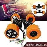 PROMOTOR Dual Hub Motors Drive Kit for Electronic Skateboard Longboard 90MM 6364 Motor Wheel