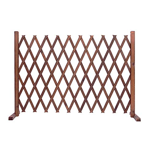 JHZWHJ Garden Fencing,Freestanding Wood Garden Trellis for Climbing Plants Outdoor,Outdoor Privacy Screens and Panels,Animal Barrier (Size : 70x180cm)