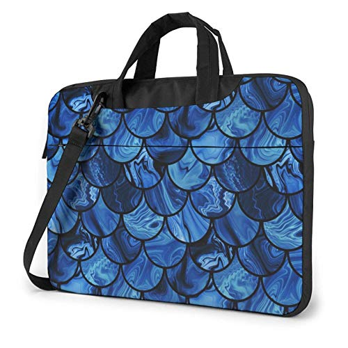 XCNGG Bolso de hombro Computer Bag Laptop Bag, Ocean Planet Sea Business Briefcase Protective Bag Cover for Ultrabook, MacBook, Asus, Samsung, Sony, Notebook 15.6 inch
