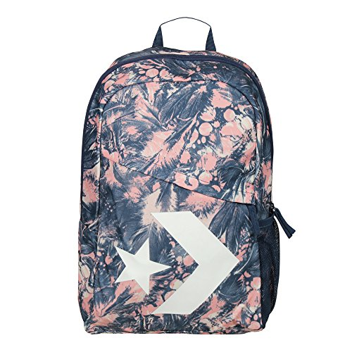 Converse Mochila Backpack para mujer Star Chevron Pale Coral Barely Orange Navy...