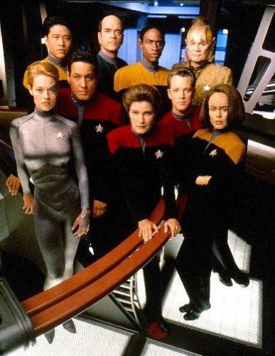 'Star Trek Voyager'-Mini-Poster, 28x 43cm
