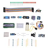Kit de módulo de sensor Componentes electrónicos Practicidad estable Placas de desarrollo de PCB para principiantes de aprendizaje para Mega Set