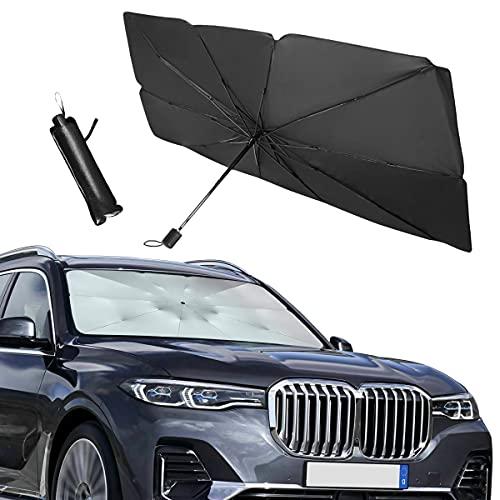 Car Windshield Sun Shade, 31'x 52' Foldable Umbrella Sunshade/Cover for Most...
