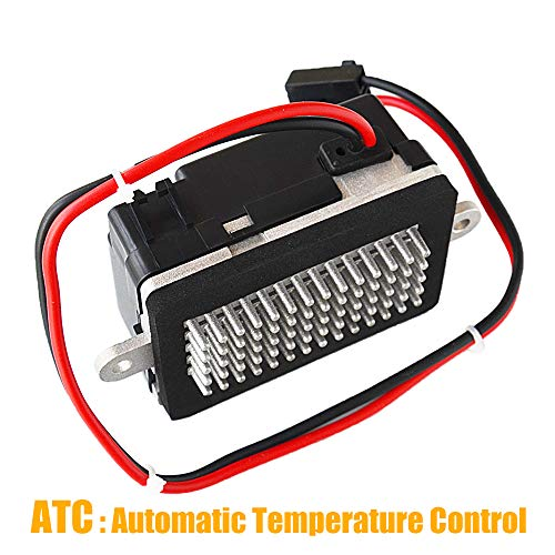 HVAC ATC Blower Motor Resistor 5012699AA RU-358 Compatible with Jeep Grand Cherokee 4.0L 4.7L 1999-2004 with Automatic Temperature Control AKWH