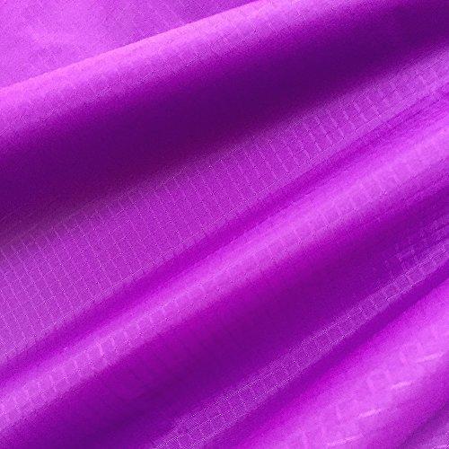 emma kites Flieder 152x91cm (WxL) 40D Ripstop Nylon Stoff Vor schnitt PU Beschichtung Licht wasserdicht UV-widerstandsfähig