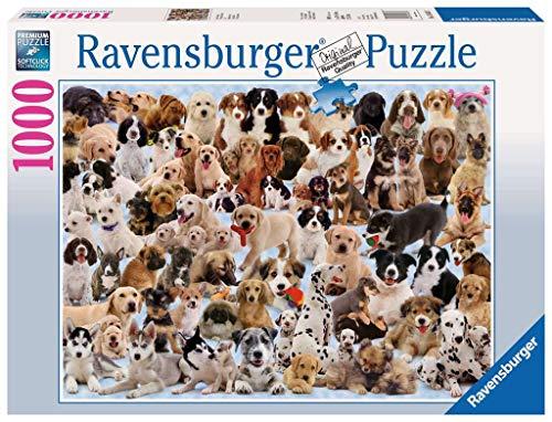 Ravensburger 15633 - Hunde Collage - 1000 Teile Puzzle