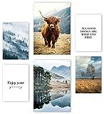 Mia Félice Premium Poster Set »The Highlands « 2x A3 |