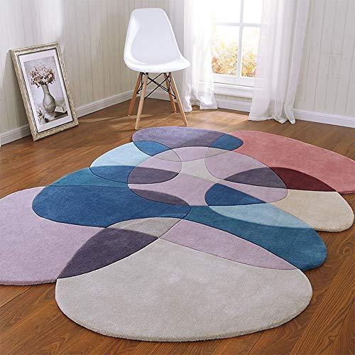 SWNN Carpet Rosa Skandinavischen Modernen Minimalistischen Wohnzimmer Couchtisch Schlafsofa Schlafzimmer Teppich Teppich Handgemachte Acryl-Teppich 2m * 3m (Size : 1.6 * 2.3m)