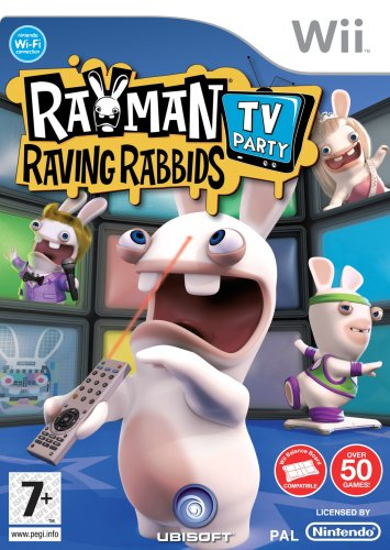 Ubisoft Rayman Raving Rabbids TV Party - Juego (No específicado)