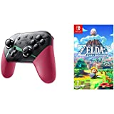 Xenoblade Chronicles 2 Controller & Legend of Zelda Link's Awakening Nintendo Switch Gaming Bundle