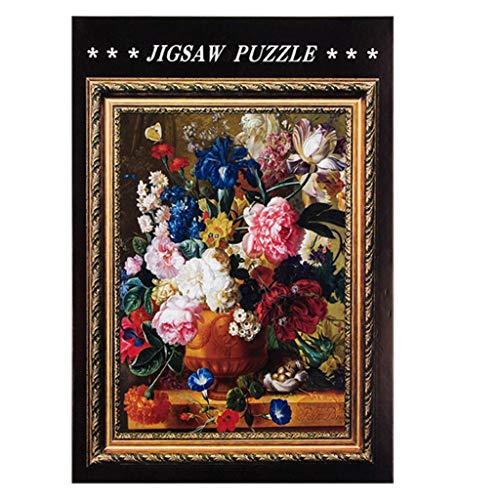 Yowablo Puzzle Adult DIY Landschaft Tier Muster Bild Puzzles Home Game 1000 Stück ( 75*50cm,A )