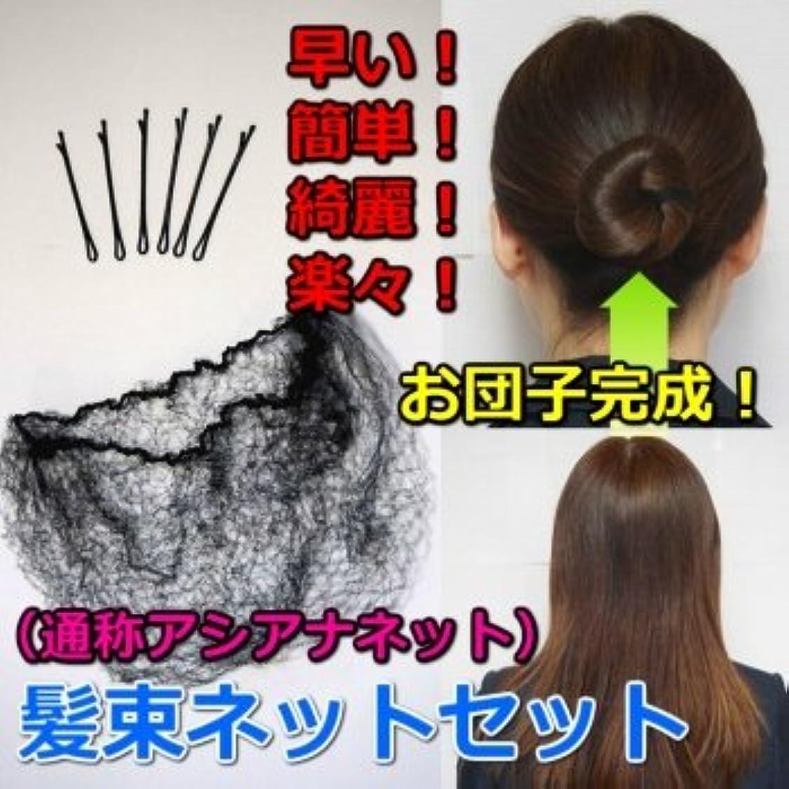 悲観的発疹承認する髪束ねネットセット(アシアナネット) 50枚セット