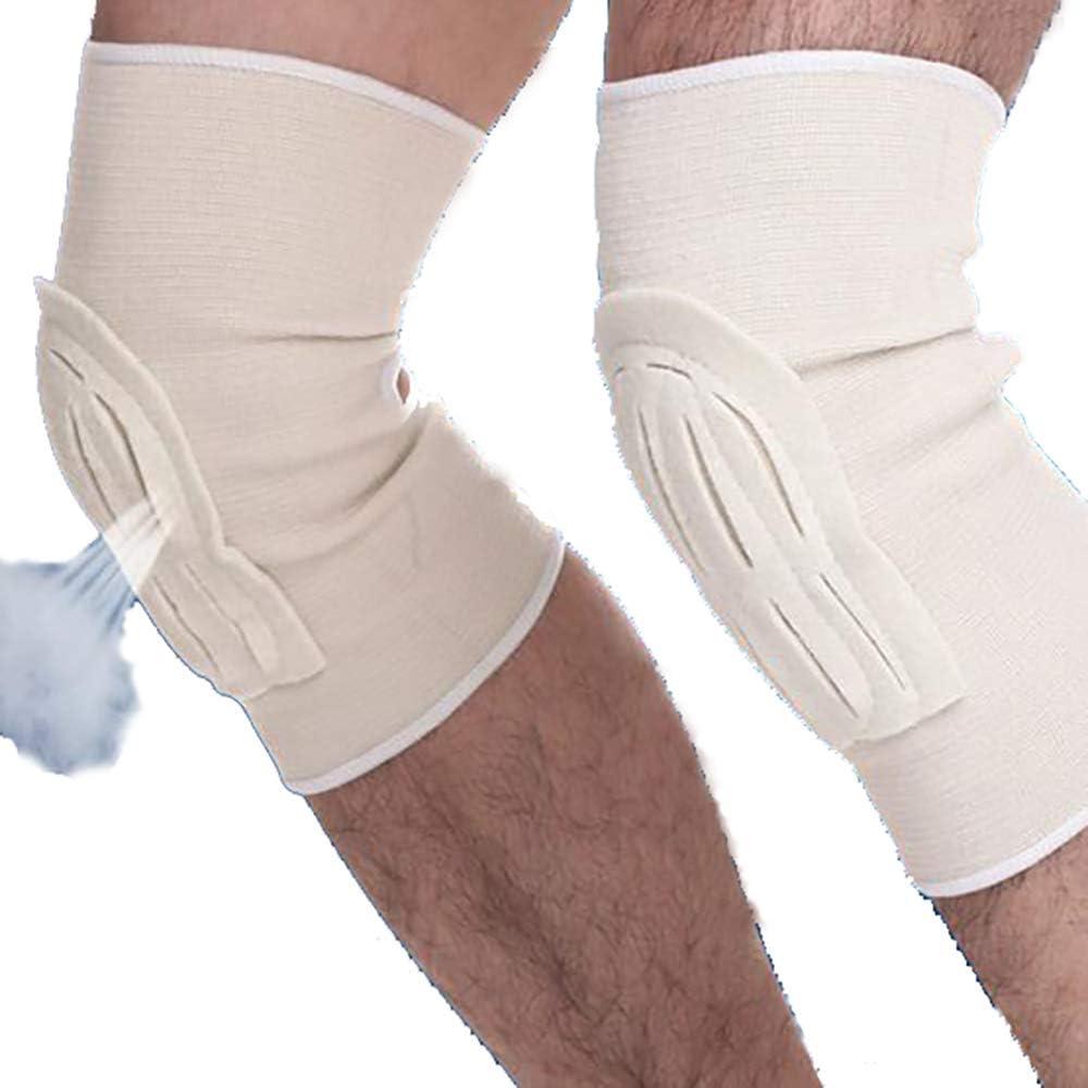 Pack Super intense SALE of 2 Knees Keeping Warm Athletics LU2000 K Braces Max 55% OFF Diabetes