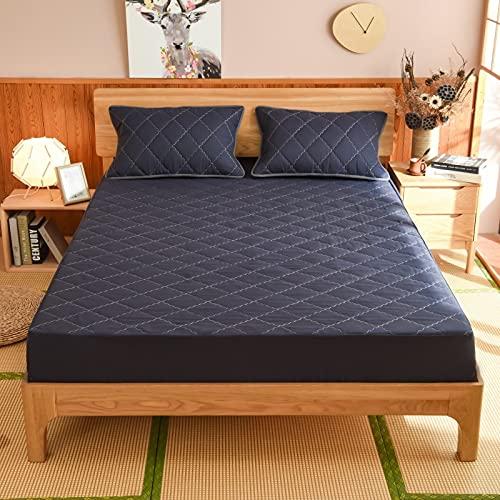 BOLO Couvre-lit Couvre-lit en Coton Patchwork INCL, en Couverture matelassée Respirante,Disponible en différentes Tailles,90x200+25cm