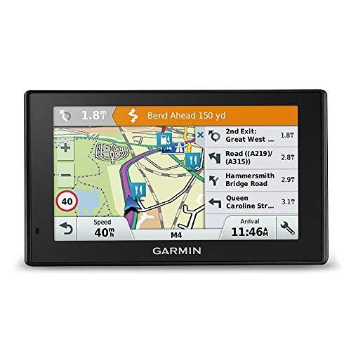 """Garmin Driveassist 51 EU LMT-D - Navigatore 5"""" Con Dashcam Integrata, Mappa Europa Completa, Aggiornamento A Vita E Servizi Live Via Bluetooth E Infotraffico Dab (Ricondizionato)"""