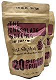 The Chocolate Butcher / Raspberry Dark Chocolate Truffles (Two Bags—40 Truffles)
