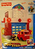 Geo Trax Beamtown Fire Station w Lights, Sounds & Fireman Figure Toys'R'Us Exclusive (2007)