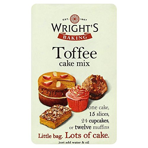 Wright's Toffee Cake Mix We OFFer at cheap prices 1.1lbs Reservation - 500g