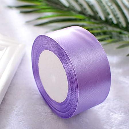 VNEIRW Ruban de satin pour bijoux ruban cadeau ruban ruban de tissu ruban de soie ruban d/écoratif pour mariage emballage cadeau 38 mm 22 m